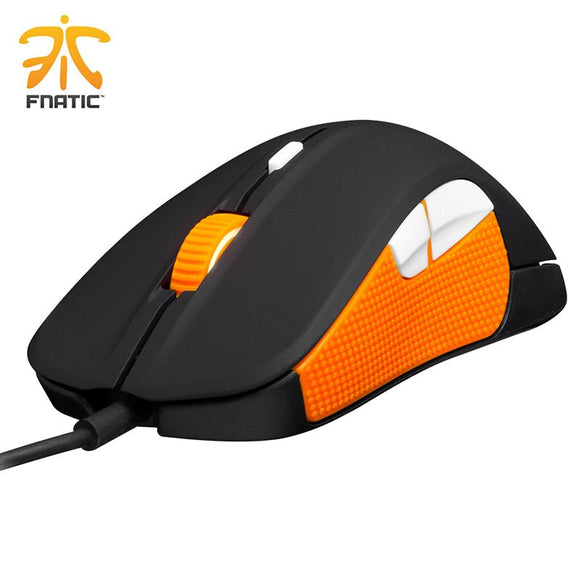 100% original steelseries mouse Steelseries Rival Fnatic Edition 6500 DPI gaming mouse USB professional Optical Gaming Mouse