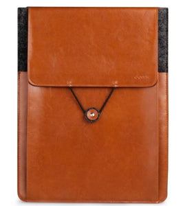 Free Shipping D-park Vintage Envelope Sleeve Woolfelt & Leather Case for surface1/2 for Microsoft Surface RT/Pro Case