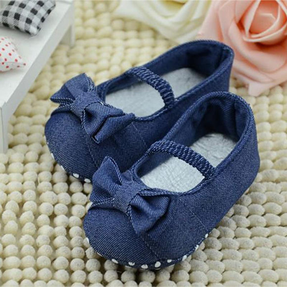 0-18months Girl Newborn Baby Prewalker Princess Shoes Infant Toddler Butterfly Flower Soft Sole Crib Shoes First Walkers T0182
