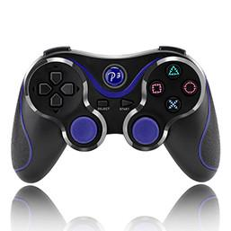 FORNORM Two Colors ABS Gamepads  Handle Comfortable For PS3 Wireless Bluetooth USB Rechargeable Gamepad