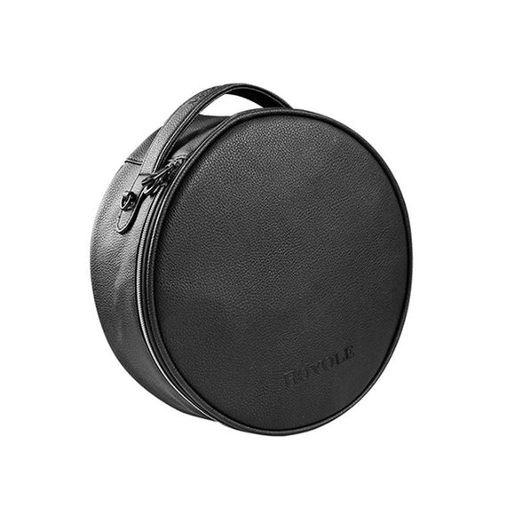 CLAITE Portable Leather Handbag Royole Moon VR Glasses All In One Custom Travel Carry Storage Case For Virtual Reality Glasses