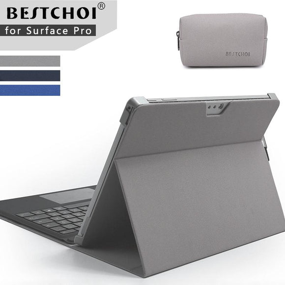 Laptop case for tablets stand holder for Microsoft surface pro 4 /pro 5 Laptop sleeve for Surface new pro 5 laptop fold holder