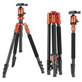 Zomei M7 Professional Heavy duty Aluminium Camera Tripod Monopod 63 Inch with Ball headDSLR Travel Tripod for Dslr camera Stand