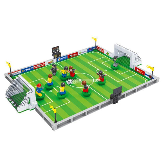 Model Building Kits Compatible For Lego City Football 3D Blocks Educational Model Toys Develop Hobbies Interest For Children