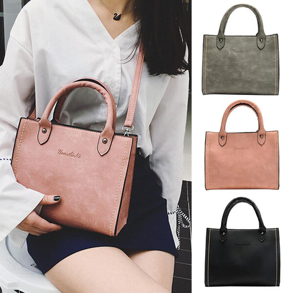 Women's Fashion Leather Shoulder Bags with Corssbody Bag&Handbag