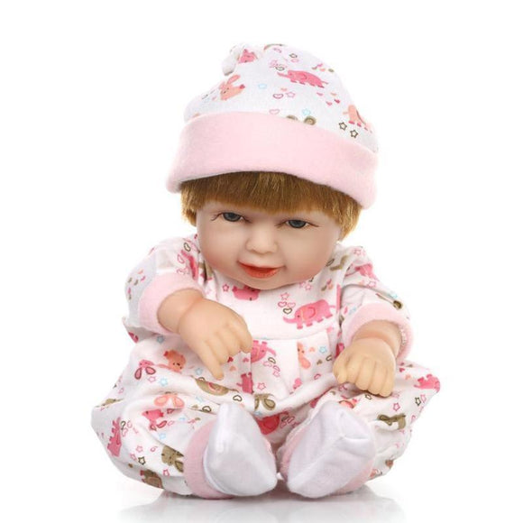 11 Styles Silicone Reborn Baby Girl Toys Doll Fashion Kids Playmate Gift Stuffed Toys for Children Newbrons