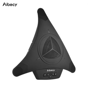 Aibecy MST-X1S USB Video Conference Microphone Speakerphone 6m 360D Audio Pickup for Computer Mobile Phone Support Skype MSN QQ