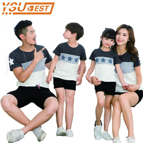 dacbdaee5d Lovers Suit T Shirt Family Matching Outfits Mother Father Kids Girl Boys Shirts  Clothes Mom Dad