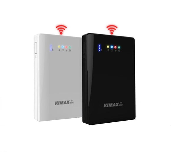 2.5 Inch WiFi Hard Disk Box Mobile Power Bank 4000mAh External HDD Case Wifi Repeater Wifi extender storage bas