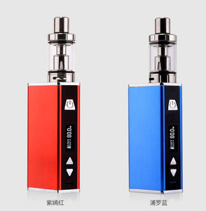80W Electronic Cigarette Vape Mod Box MOD Built-In Battery Tank Atomizer e Cigarette vape kit  Vaporizer Vape