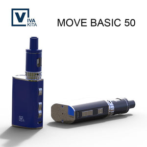 Electronic Cigarette Vapor Move 50W Box Mod kit Vape pen 1100mAh Move 50W E-Cigarette kits 2ml Atomizer Tank Vaporizer Vapor KIT