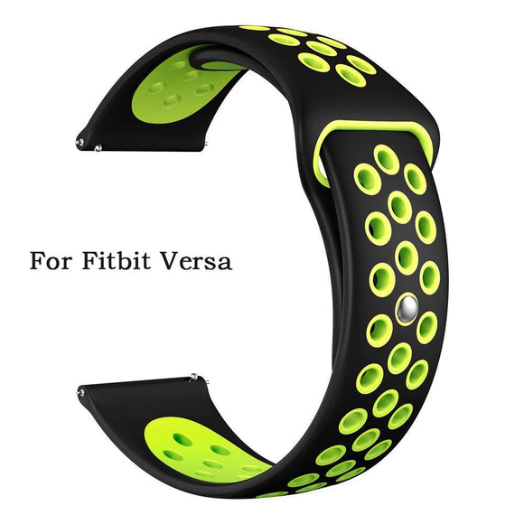 Fashion Sport Silicone Watch Band For Fitbit Versa Interchangeable Quick Fit Watch Bands Strap For Fitbit Versa Smart Watch