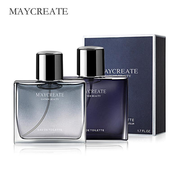 MayCreate 50 ml Parfum Men Fragrance Body Spray Portable Bottle Parfum for Men Fresh Liquid Antiperspirant