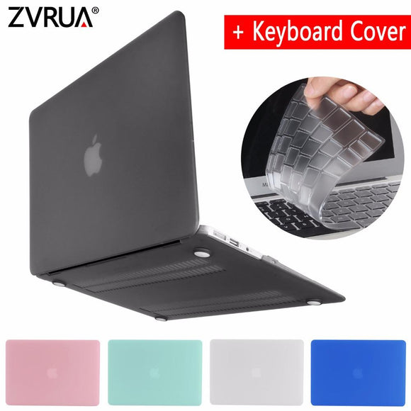 New laptop Case For APPle MacBook Air Pro Retina 11 12 13 13.3 15 15.4 inch with Touch Bar 2017 A1706 A1707 A1708+Keyboard Cover