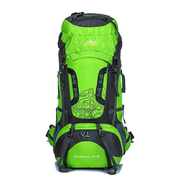 professional large Outdoor Camping package Waterproof Hiking Backpack Travel equipment Sport Bag Climbing Rucksack hw258