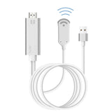 Wireless WiFi Mirroring Cable HDMI Adapter hd Video Converter AV Cord Airplay Miracast For iPhone X Samsung Android Phone to TV