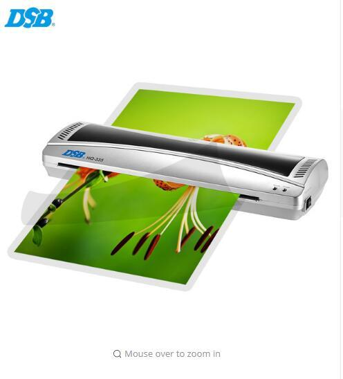 A3 Photo Laminator Office Hot & Cold Thermal Laminating Machine Professional For A3 Document Photo PET Film Roll Laminator