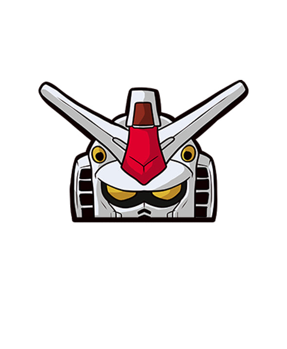 Anime Gundam Peeker Sticker - Car Vinyl Decal