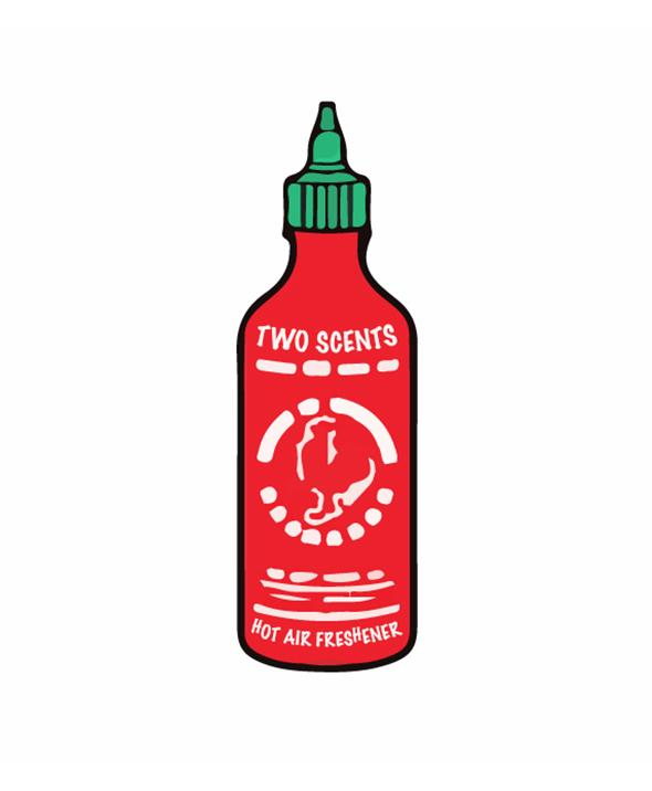 Chilli Sauce Bottle Sticker - Car Vinyl Decal