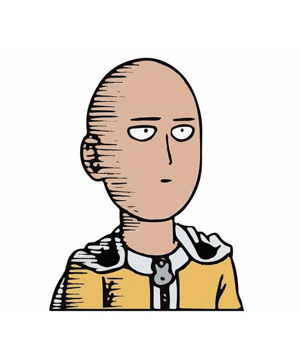 Anime OPM Sticker - Car Vinyl Decal