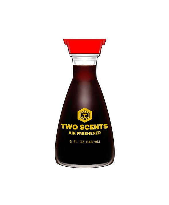 Soy Sauce Bottle Sticker - Car Vinyl Decal