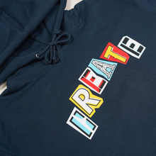 Load image into Gallery viewer, CREATE RANSOM SLATE BLUE HOODIE