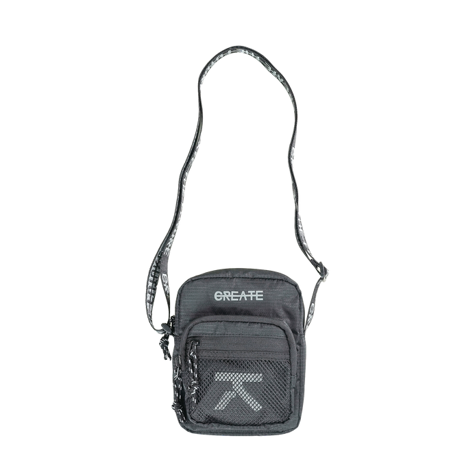 CREATE REFLECTIVE SHOULDER BAG
