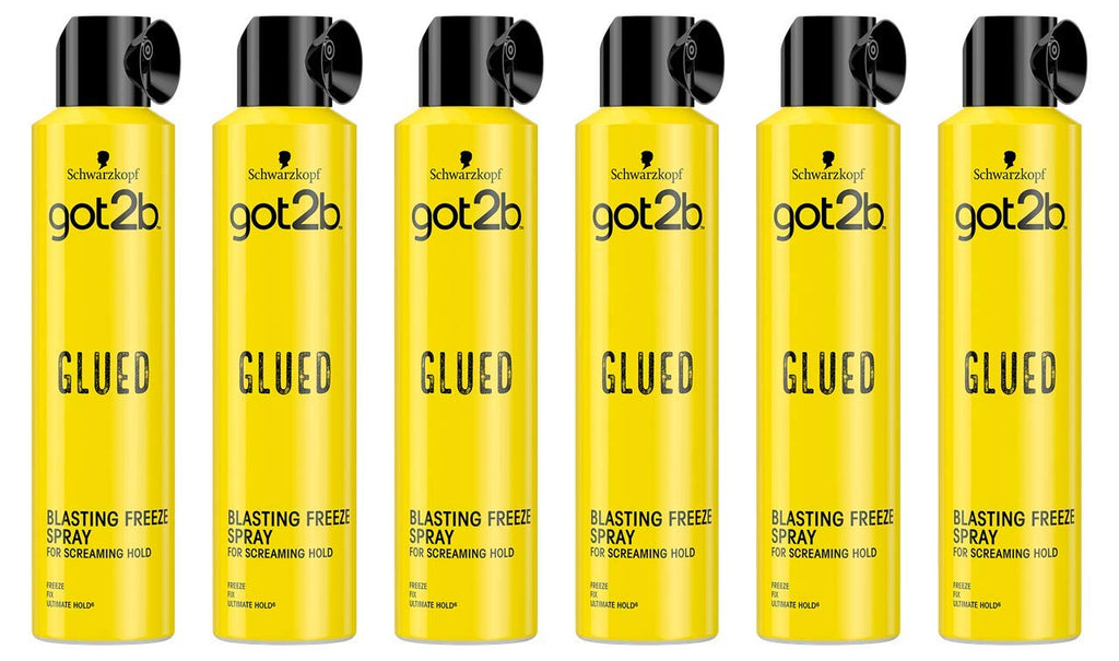 Got2b Glued Blasting Freeze Hair Spray, 300ml