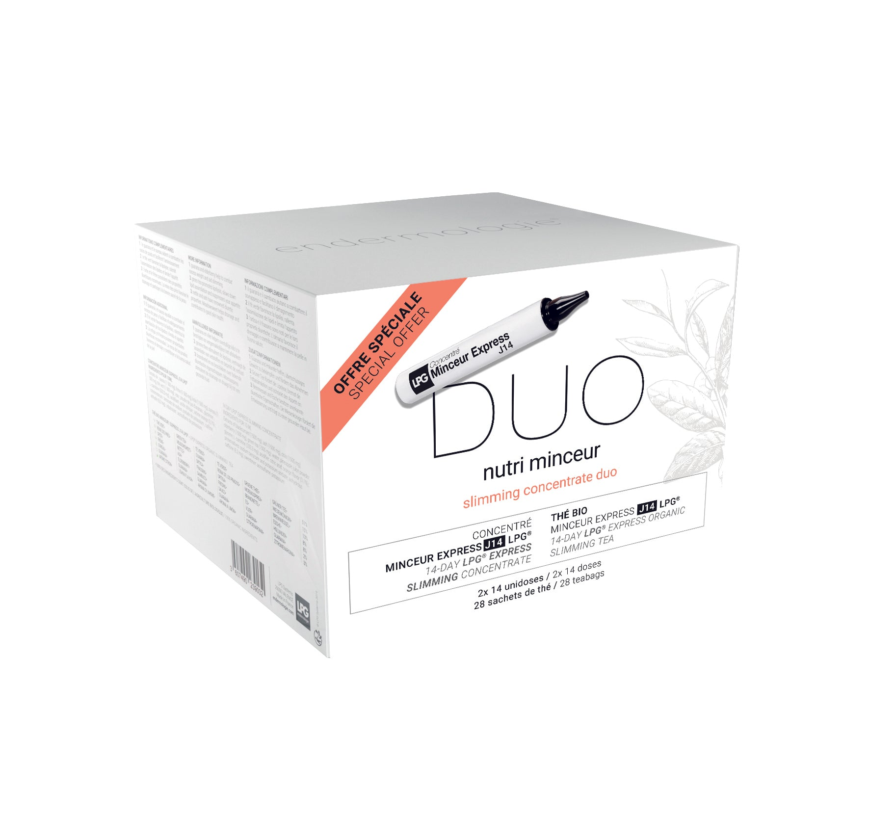 SLIMMING CONCENTRATE DUO PAKKET