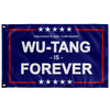 "Presidents are Temporary, Wu-Tang is Forever Protest Flag 36""x60"". Anti-Trump."