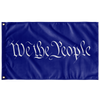 We The People Protest Flag Blue 3ftx5ft