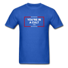 You're In a Cult - Unisex T-shirt - royal blue - antitrump voteblue progressive values democratic socialism