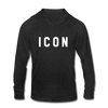 Icon - Schitt's Creek David Rose Unisex Tri-Blend Hoodie Shirt - heather black