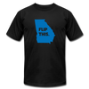 Flip This. Stacey Abrams Georgia Election T-shirt - Unisex - black