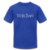 We The People - Unisex Jersey T-Shirt by Bella + Canvas - royal blue