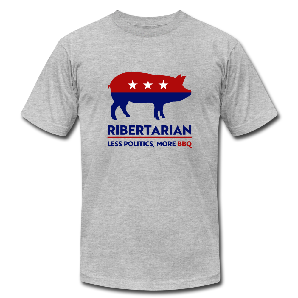 Ribertarian  - Unisex T-Shirt - heather gray