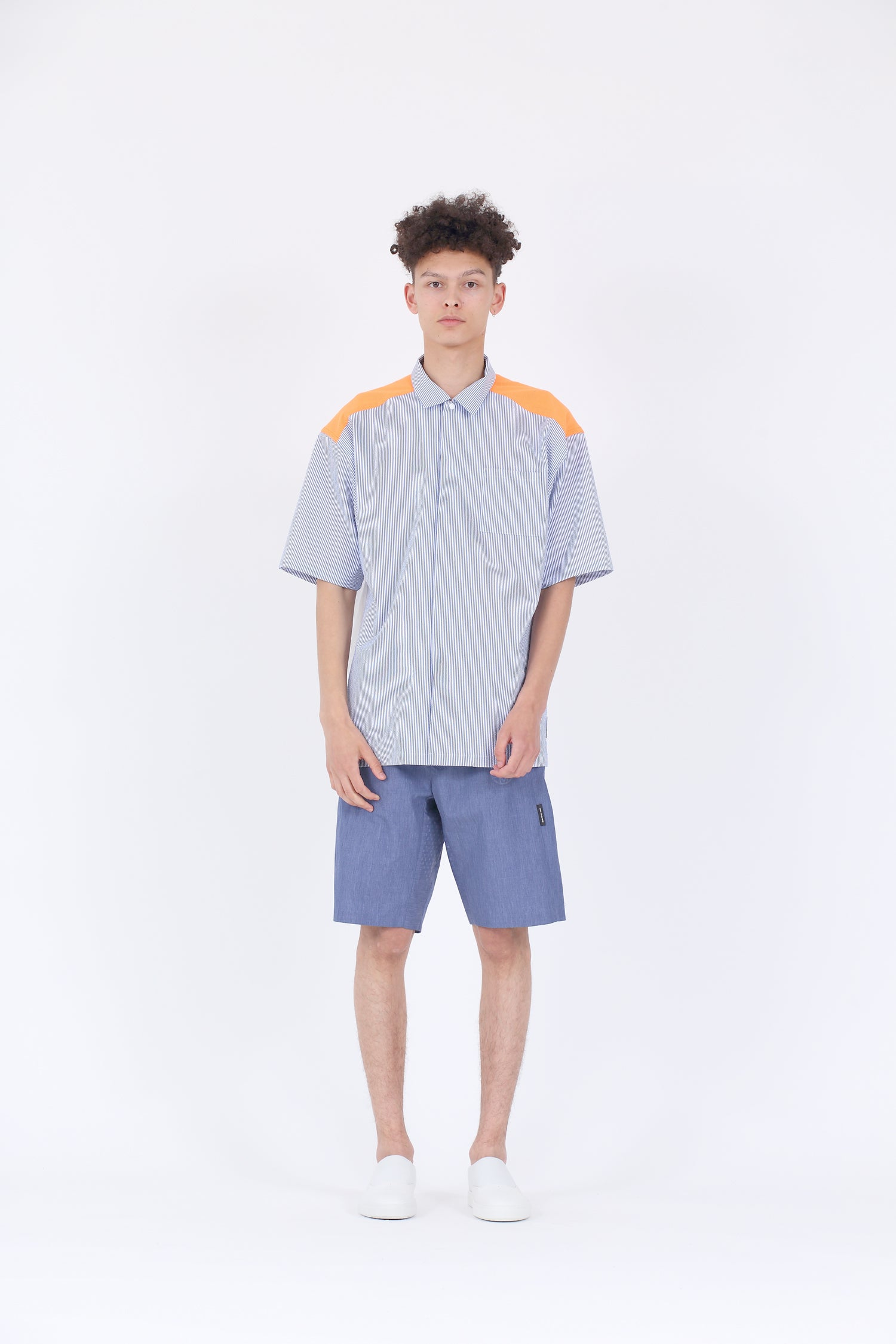 TECH STRIPE S/S SHIRTS