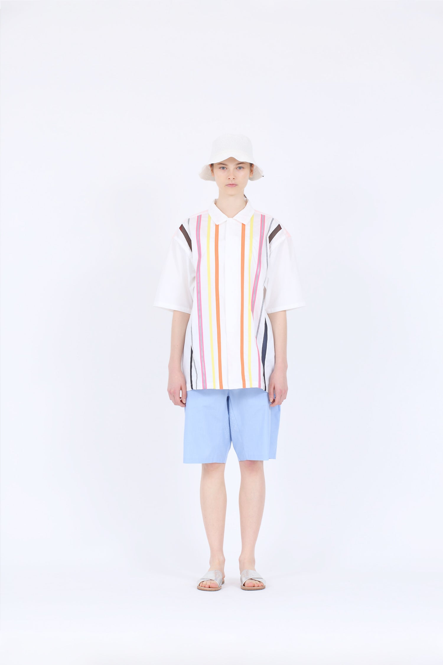 TAPE STRIPE S/S SHIRTS