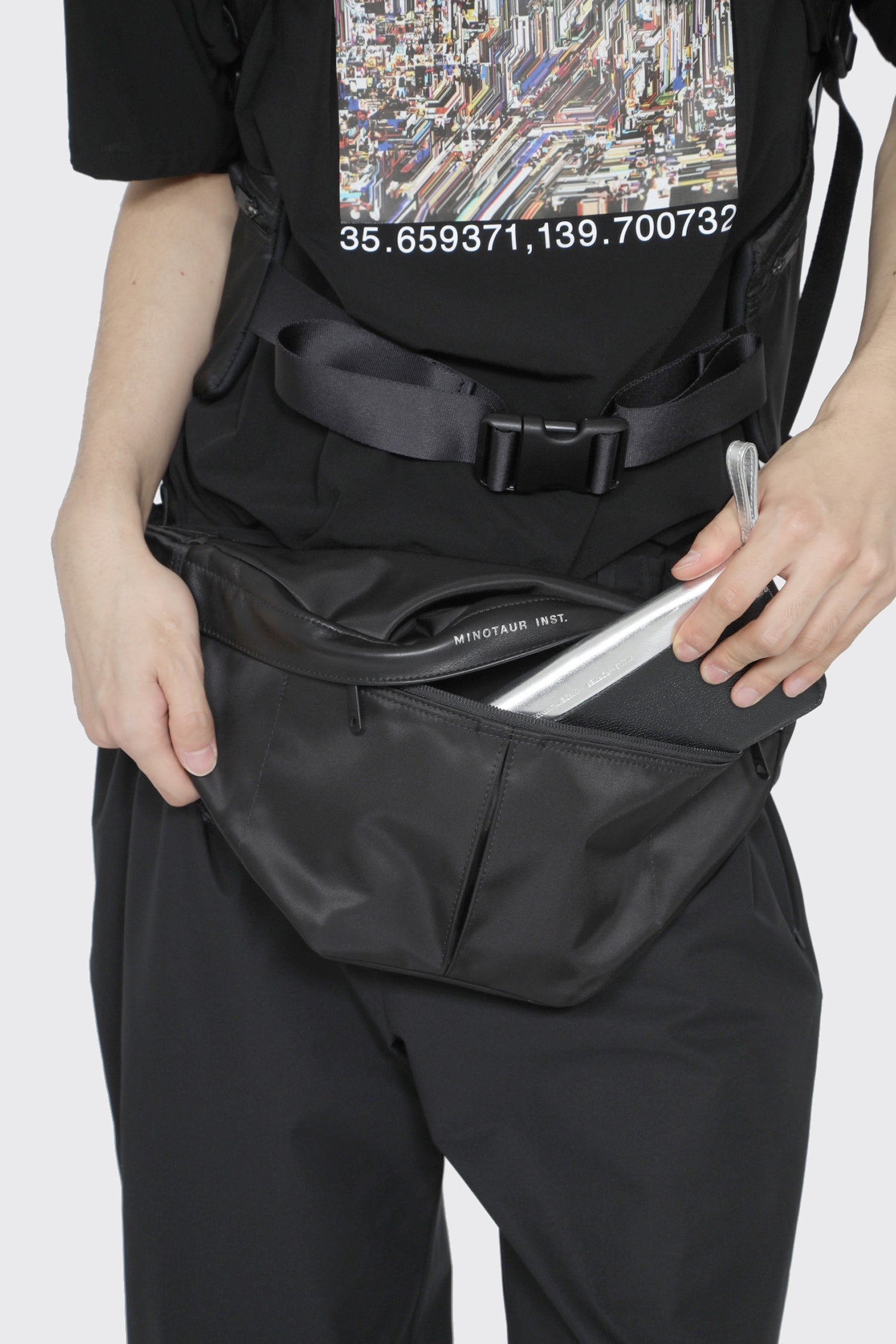 HIGH DENSITY GYM WAIST POUCH L
