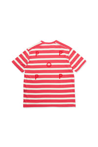 BIG STRIPE T-SHIRTS【POP TRADING COMPANY】