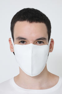TECH KNIT MASK WHITE