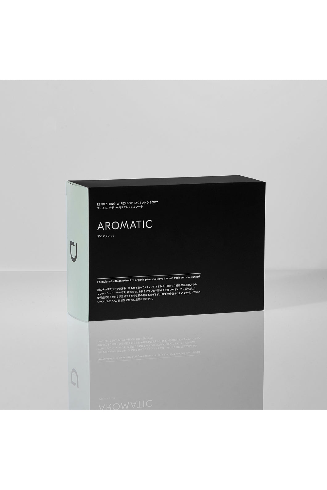 REFRESHING WIPES FOR FACE AND BODY AROMATIC【DEXT】