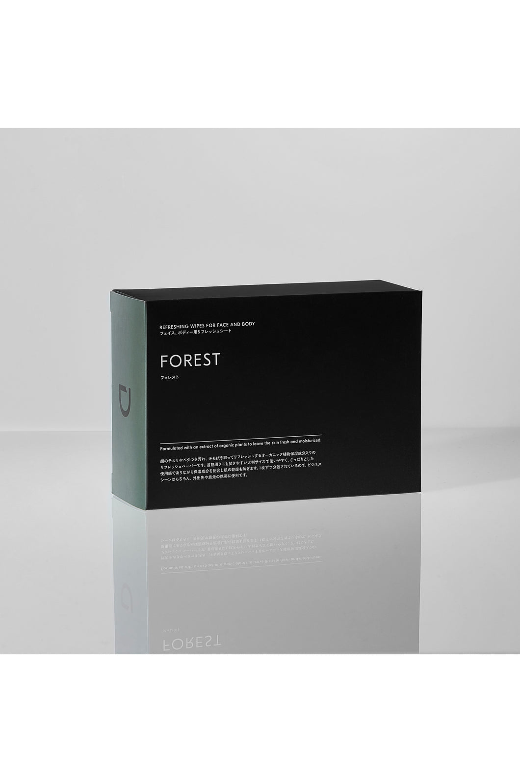 REFRESHING WIPES FOR FACE AND BODY FOREST【DEXT】