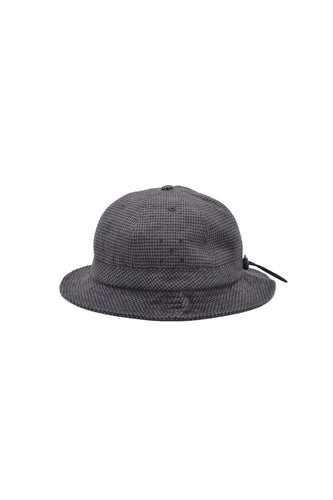 BELL HAT (Anthracite Houndstooth)【POP TRADING COMPANY】