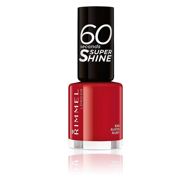 Rimmel London Vernis à Ongles 60 Seconds Super Shine - La Licorne Beauté