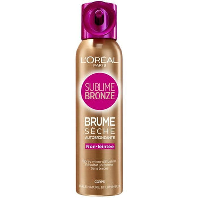L'Oréal Spray Autobronzant Sublime Bronze - La Licorne Beauté