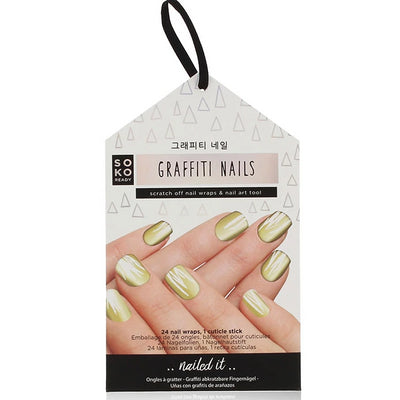 Soko Ready Autocollants Ongles Graffiti Nails - La Licorne Beauté