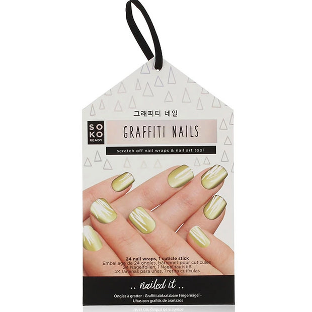 Soko Ready Autocollants Ongles Graffiti Nails
