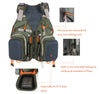 Outdoor Fly Hunting  Fishing Vests with Multi Pockets