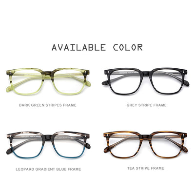 Glasses Frame Men Square Optical Clear Spectacles Eyewear FONEX